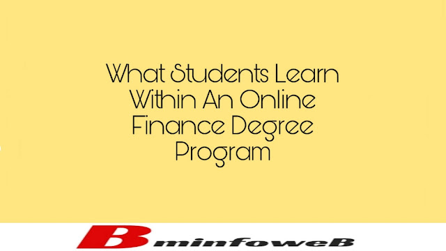 What Students Learn Within An Online Finance Degree Program