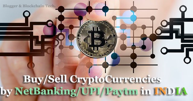 how to buy or sell bitcoin in india