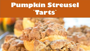 #Friday #Recipe #Pumpkin #Streusel #Tarts