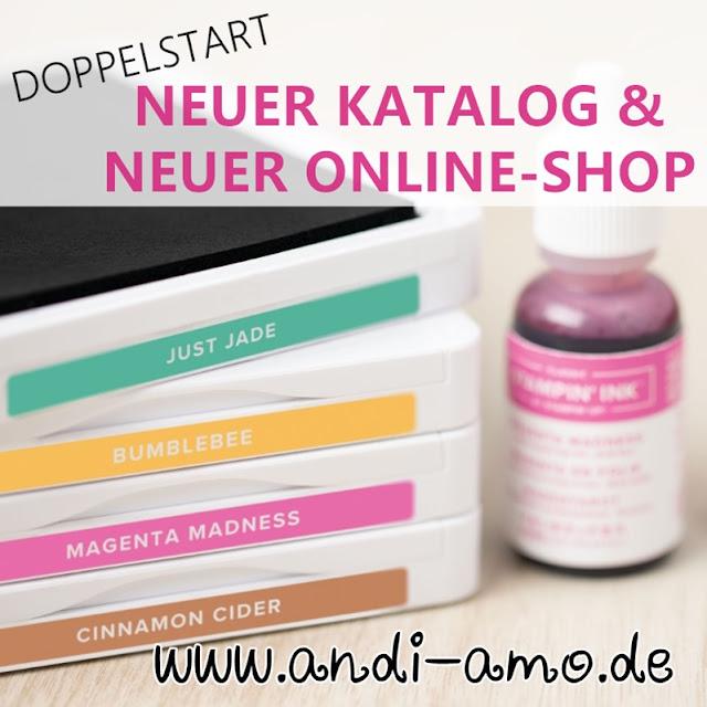 Neuer Katalog und Stampin Up Online-Shop