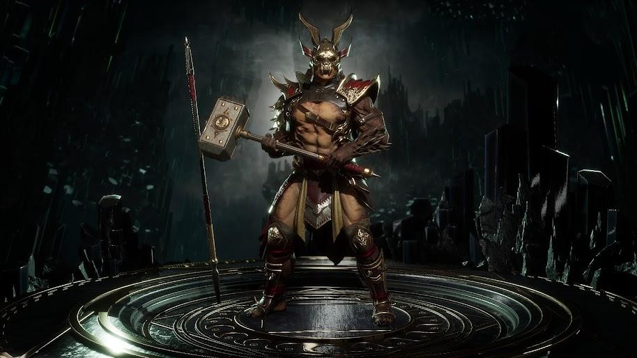 Shao Kahn Mortal Kombat 11 4K Wallpaper #113