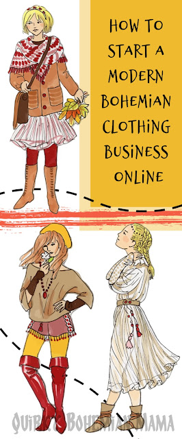 How to Start a Bohemian Clothing Business Online. How To Start And Run A Bohemian Business. Business ideas for bohemians. Business for Bohemians. www.quirkybohemianmama.com #boho #bohemian #bohobossbabe #bohemianfashion #quirkybohemianmama