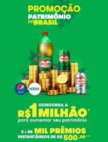 Promoção Patrimônio do Brasil Guaraná Antarcita Prêmios 500 Reais Na Hora