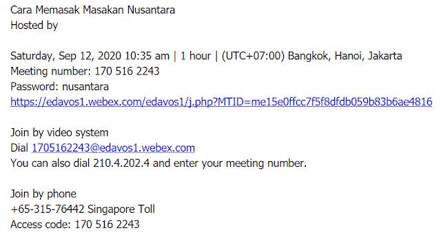event online webex meeting
