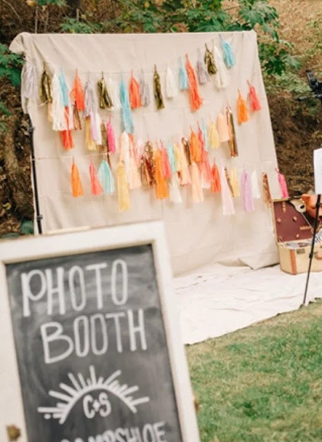 dekorasi photo booth sederhana sendiri