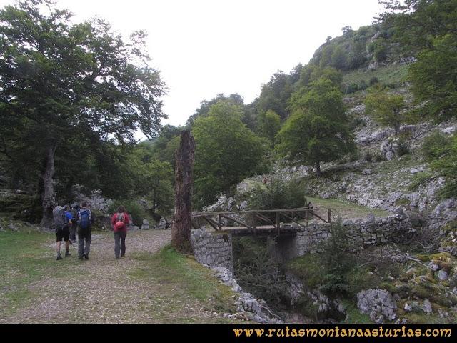 Ruta Pan de Carmen, Torre de Enmedio: Puente del Pozo del Alemán