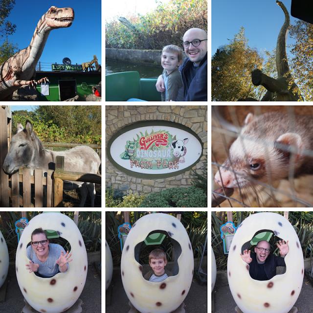 Dinosaur Farm Park, Gulliver's Land, Milton Keynes