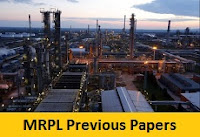 MRPL Graduate Apprentice Previous Papers