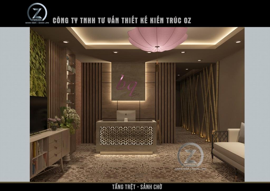 Thiết kế spa chuyên nghiệp - Dự án BQ spa Gò Vấp