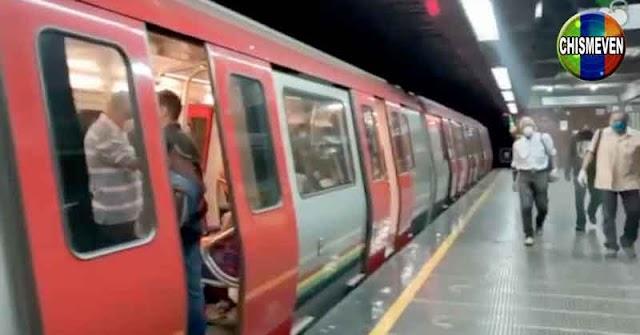 Mujer se lanzó a los rieles del Metro junto a su hija por no soportar la situación del país