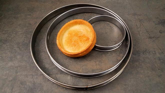 Poids de pâtes par diamètre de cercle