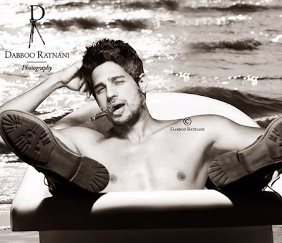 Sidharth Malhotra shoot for Dabboo Ratnani 2016 Calendar
