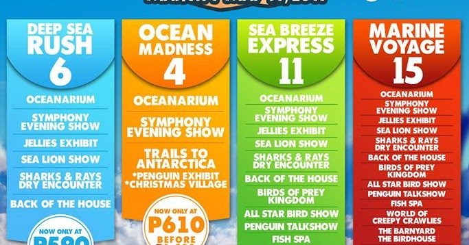 Manila Shopper Manila Ocean Park Bundle Promo Til May 2017