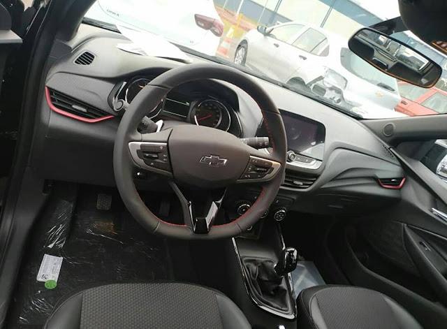 Novo Chevrolet Onix RS 2020 Turbo Flex