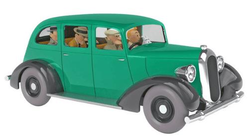 la voiture des gangsters 1:24 tintin en amérique, les voitures de tintín 1/24e, Les voitures de Tintín 1/24 hachette, tintin collection voitures 1/24, tintin collection voitures 1/24 hachette, collection tintin voitures miniatures, tintin collection voitures hachette