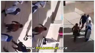 (بالفيديو) فرنانة : يقتحم مدرسة ويهدد المربيات والتلميذات بقطع رؤوسهن بسكين إذا لم يرتدين الحجاب!