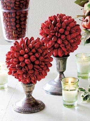 como usar candelabros na mesa de natal
