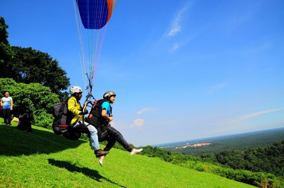 Image result for paragliding bukit jugra malaysia