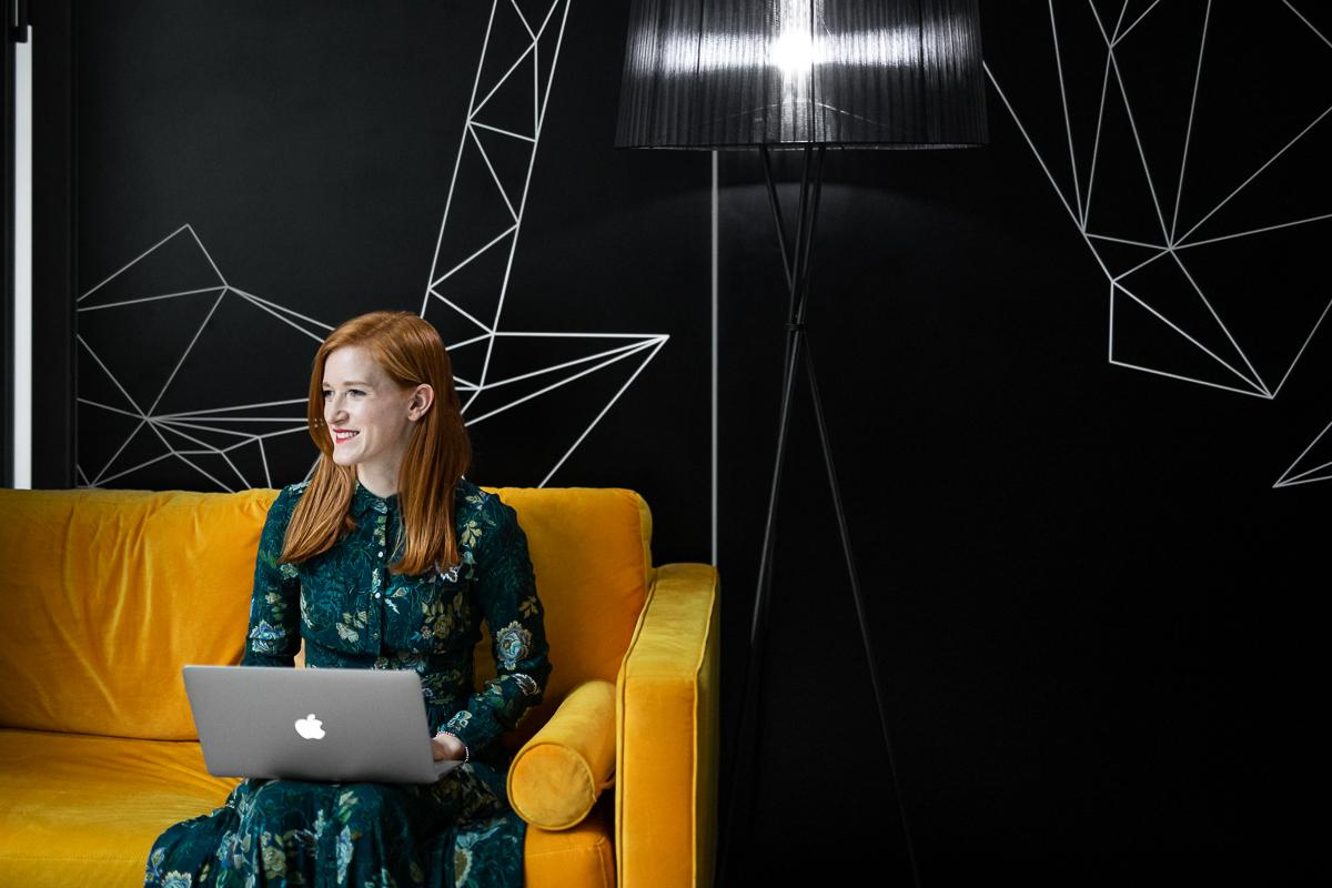 Zakladatelka a lékařka Kateřina Vacková založila Loono po tom, co jí samotné diagnostikovali rakovinu vaječníků. Foto: Oldřich Hrb