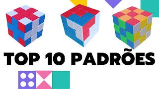 Padrões Incríveis feito no Cubo Magico 3x3x3