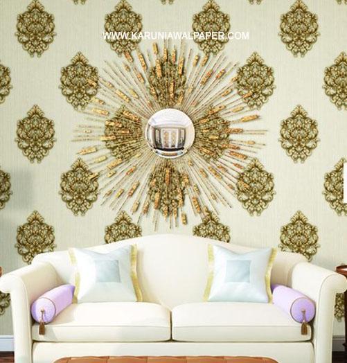 jual wallpaper dinding motif batik klasik