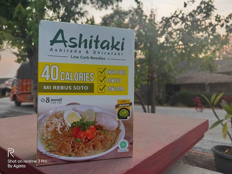 Enaknya Mie Ashitaki Rasa Soto Hanya 40 Kalori, Kok bisa?