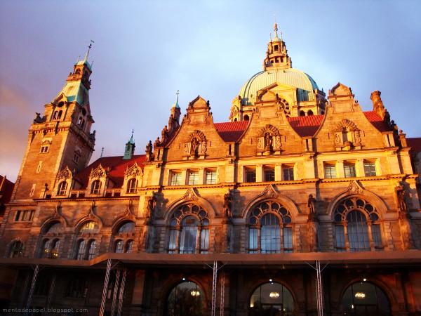 Neues Rathaus de Hannover