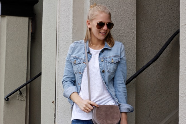 Shae Roderick, Cuyana, outfit, style, Double Denim