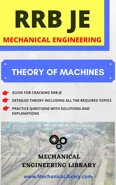 Theory of Machines - RRB Junior Engineer (JE) Guide for Mechanical Engineering - Free Download PDF - MechanicaLibrary.com Exclusive
