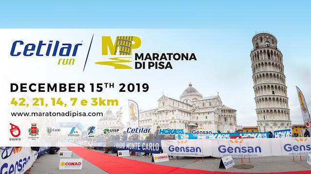 Maraton Pisa - Recorrido