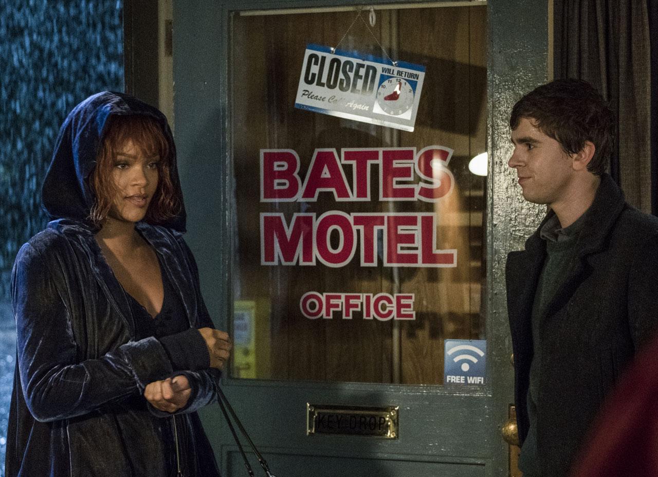 """""""Bates Motel""""  Rihanna como Marion Crane"""