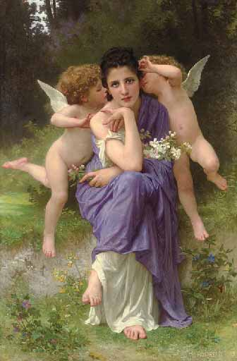 Адольф Вильям Бугро - Песни весны (1889)