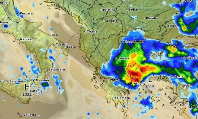 Καιρός: Ερχονται βροχές τέλος της βδομάδας (πρόγνωση για τις επόμενες ημέρες)