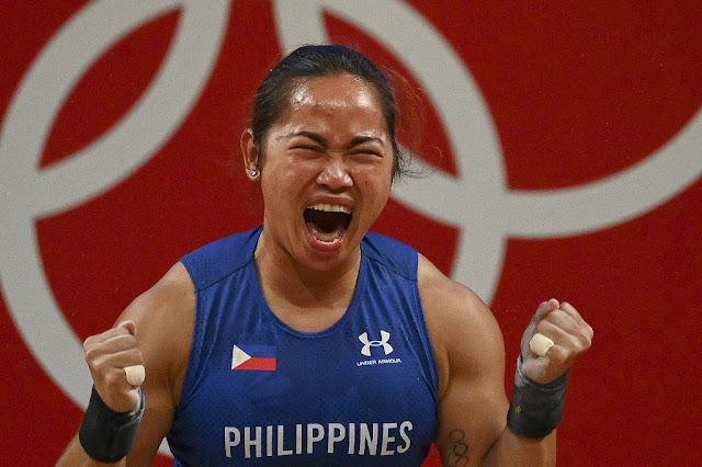 Hidilyn Diaz Wins Gold in Weightlifting in 2021 Olympics