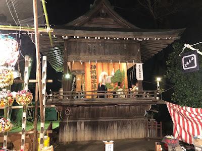 久伊豆神社縁起市里神楽(平成29年12月15日)