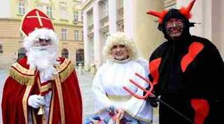 Sfântul Nicolae - Tradiții ciudate din Cehia
