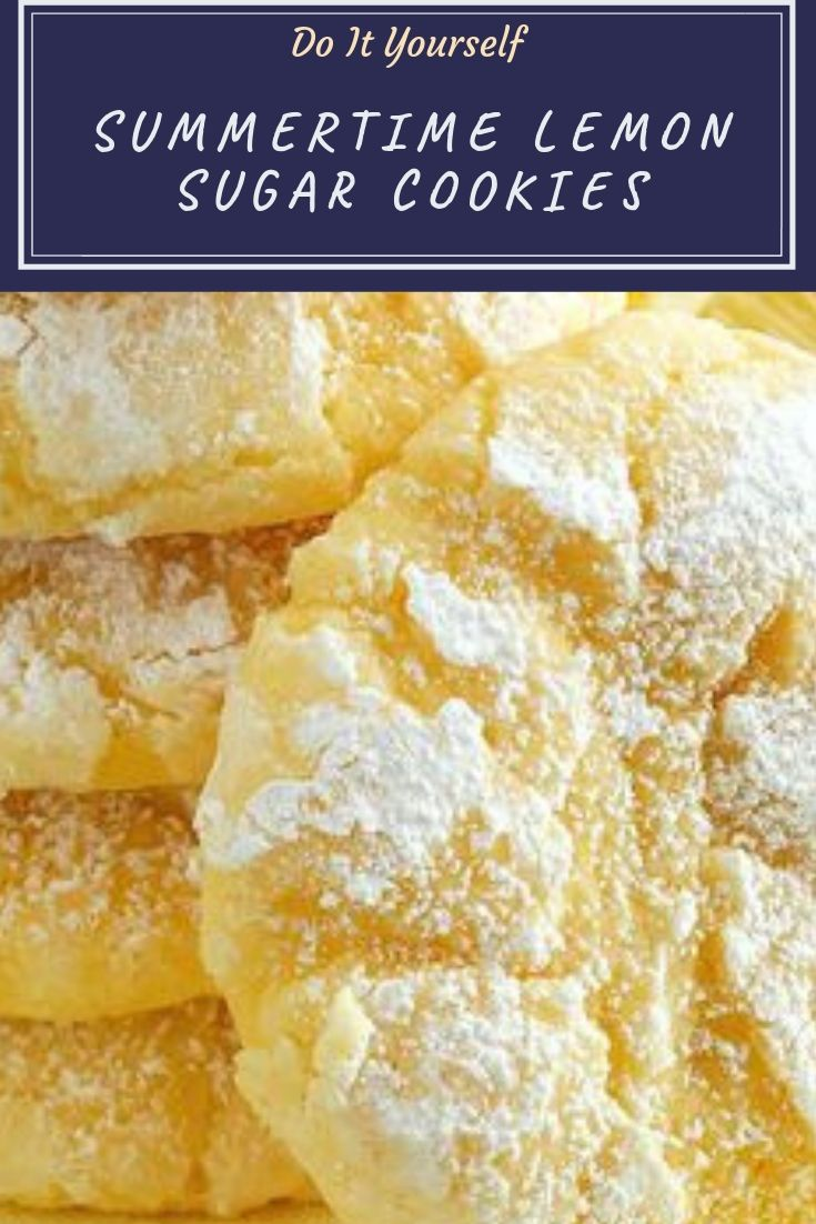 Lemon sugar cookies recipe taste like you've taken a big bite out of summer! So fresh and delicious, it'll become a favorite!