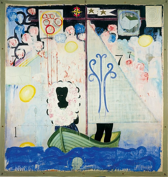 Voyager (1992) by Kerry James Marshall