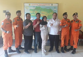 Perwakilan Pengurus Mapala Gunati Sambangi Polairud dan Basarnas Cirebon