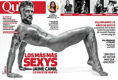"Dig Out ""Jane The Virgin"" Actor Jaime Camil & His Astounding Recreation Of His Magazine Cover 16 Years After!"