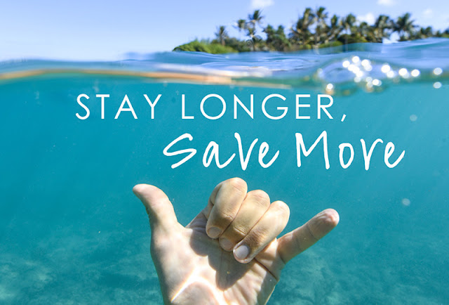 Stay Longer & Save! Book a minimum of 5 nights and save 35% on selected hotels.