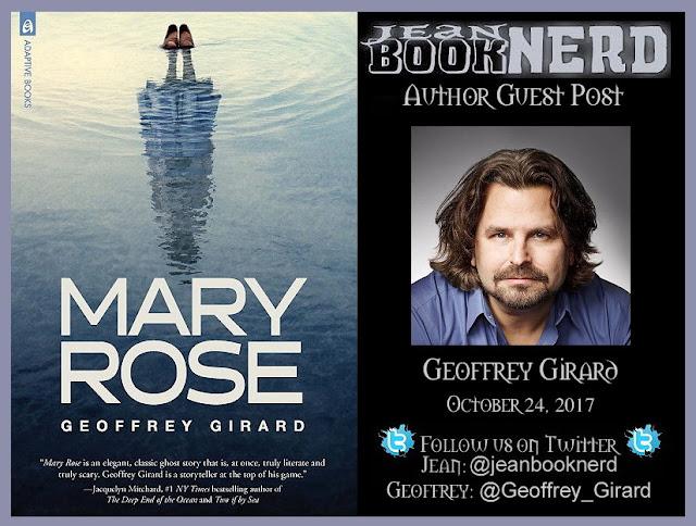 Guest Post With Geoffrey Girard Jean Booknerd