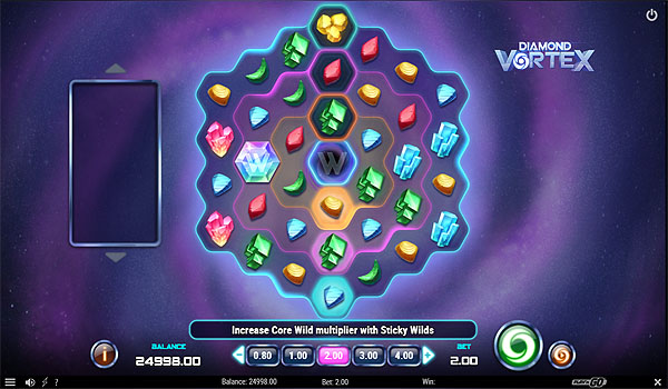 Main Gratis Slot Indonesia - Diamond Vortex (Play N GO)