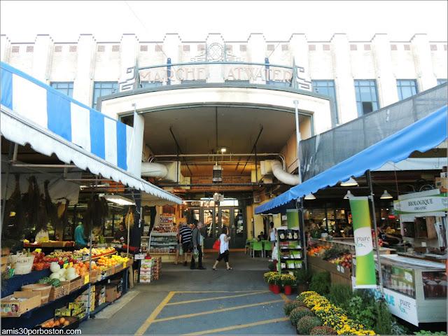 Mercado Atwater Market en Montreal