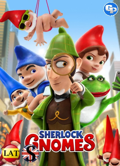 Sherlock Gnomes (2018) HD 720P LATINO/INGLES