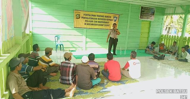 Iptu Zanzibar: Jangan Coba - Coba Gunakan Narkoba Atau Jadi Pengedar
