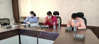 आयुष मंत्री श्री कावरे ने सर्व समाज के लोगों से चर्चा कर कोरोना संक्रमण रोकने में सहयोग देने की अपील