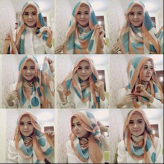 Tutorial Hijab Pashmina Lebaran Idul Fitri 2016 Untuk Gaya Yang Lebih Update