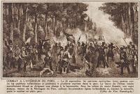 Gevechten in het park van Brussel op 25 september 1830
