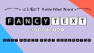 Fancy-Font-Generator